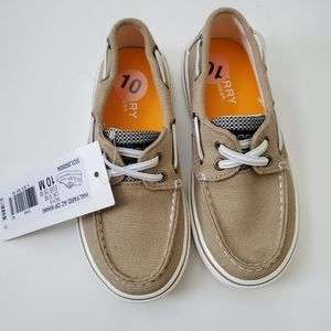 Brand New Boys Sperry Boat Shoes Sz 10M